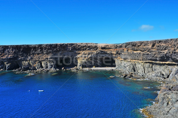 coves and caves in Ajuy, Fuerteventura, Spain Stock photo © nito