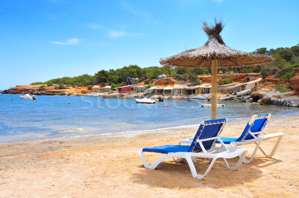 Es Pou des Lleo cove in Ibiza Island, Spain Stock photo © nito