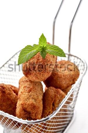 homemade croquetas, spanish croquettes Stock photo © nito