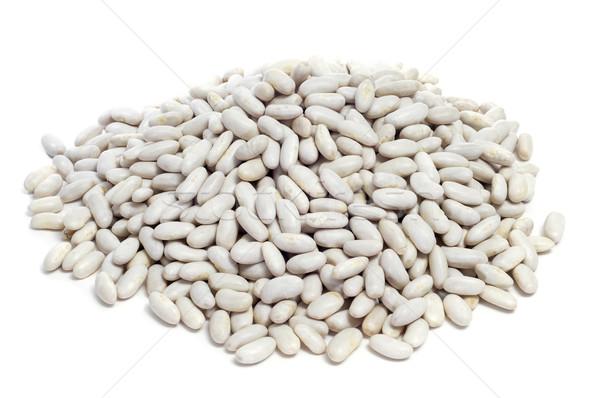 dried white beans Stock photo © nito