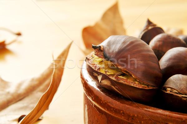 roasted chestnuts Stock photo © nito