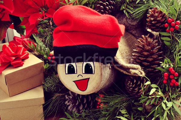 Típico España Navidad carácter regalos naturales Foto stock © nito