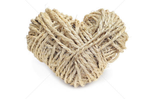 heart-shaped coil of rope Stock photo © nito