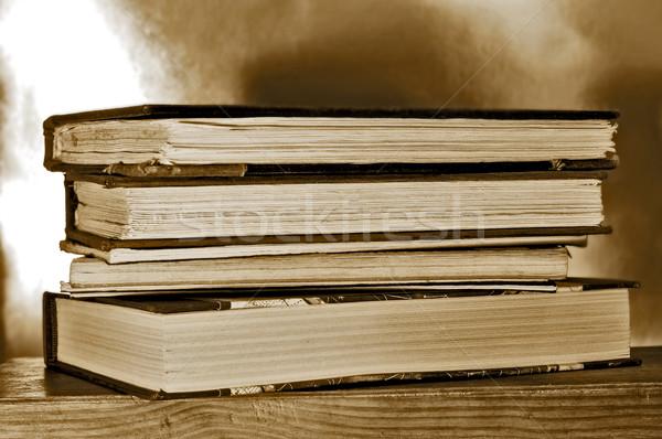 books on a shelf Stock photo © nito