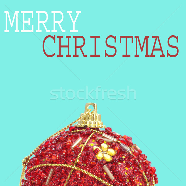 merry christmas in a pop art style Stock photo © nito