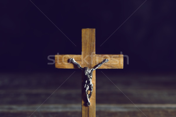 old christian crucifix Stock photo © nito