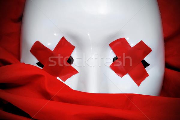 blind white mask Stock photo © nito