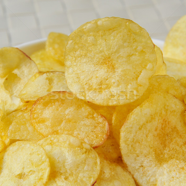картофельные чипсы чаши аппетитный ресторан промышленности Сток-фото © nito