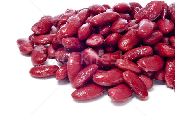 Nier bonen gekookt witte voedsel Stockfoto © nito