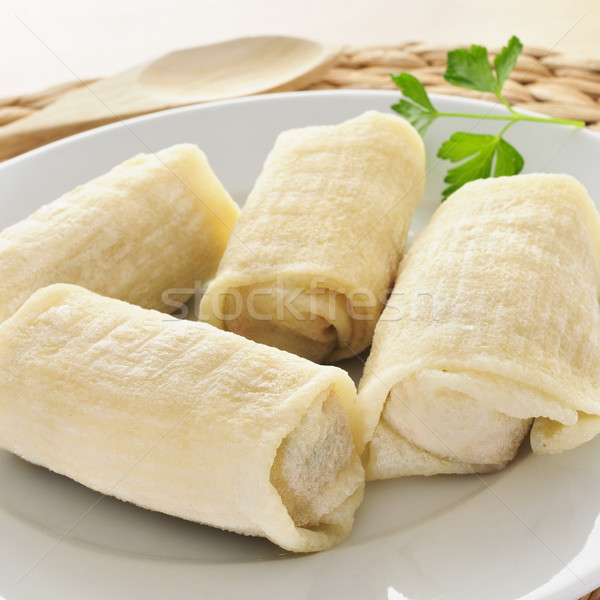 uncooked spring rolls Stock photo © nito