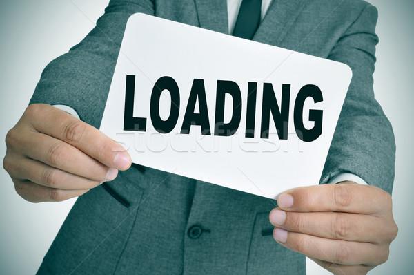loading Stock photo © nito