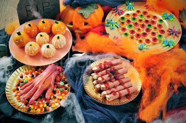 Stock photo: Halloween food