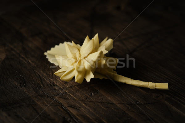 spanish braided palm for Palm Sunday Stock photo © nito