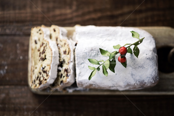 stollen cake for christmas time Stock photo © nito