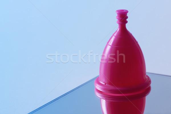 pink menstrual cup Stock photo © nito