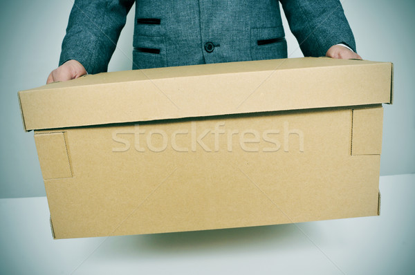 businessman moving office Stock photo © nito