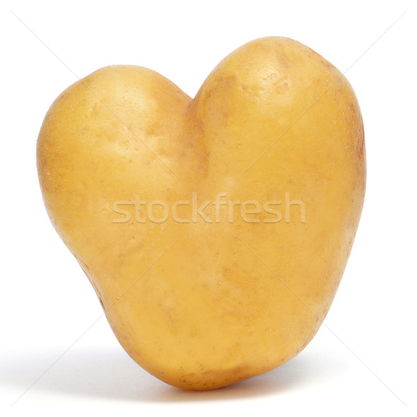 Ziemniaczanej biały zdrowia tle karty warzyw Zdjęcia stock © nito