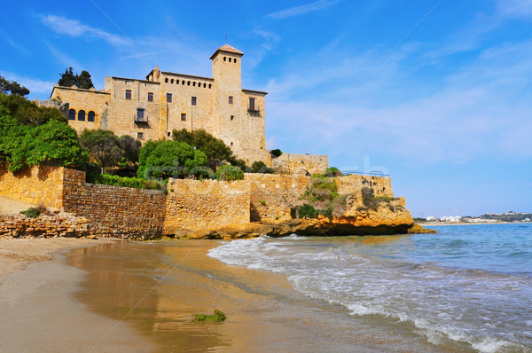 Tamarit Castle in Tarragona, Spain Stock photo © nito