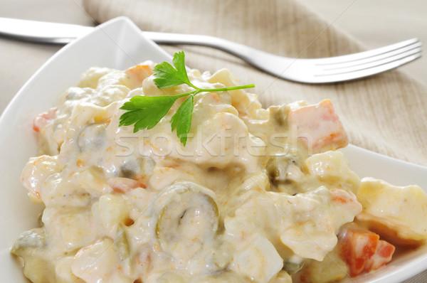 spanish ensaladilla rusa, russian salad Stock photo © nito