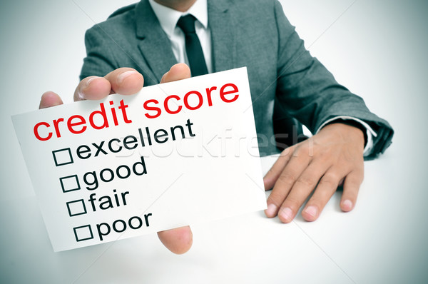 credit score Stock photo © nito