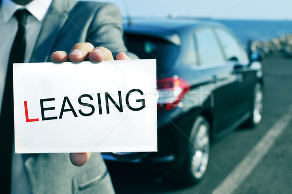car leasing Stock photo © nito