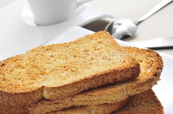 bread and coffee Stock photo © nito