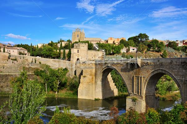 Tagus river passing through Toledo, Spain Stock photo © nito