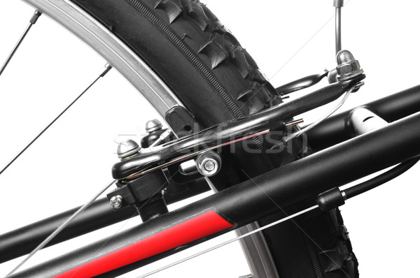 Bicicleta freio mountain bike fitness fundo Foto stock © nito