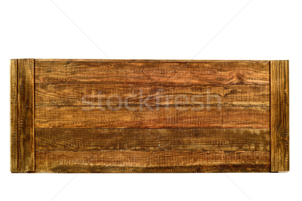 tongued rustic wooden planks Stock photo © nito
