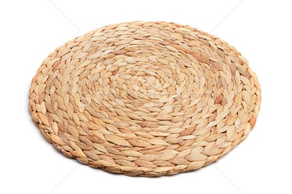 natural fibers braided trivet mat Stock photo © nito