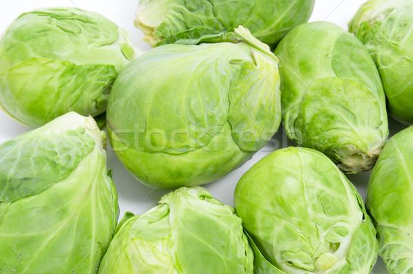 Bruselas primer plano fondo supermercado hortalizas Foto stock © nito