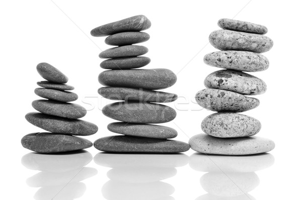 balanced zen stones Stock photo © nito