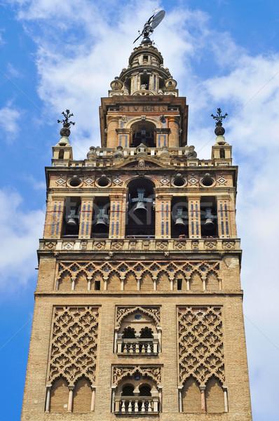 Испания мнение собора небе Церкви путешествия Сток-фото © nito