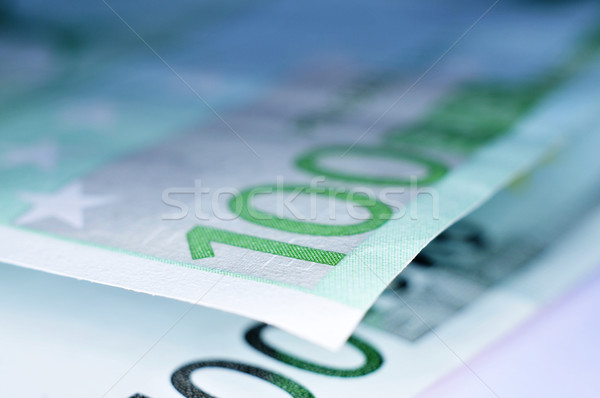 euro bills Stock photo © nito