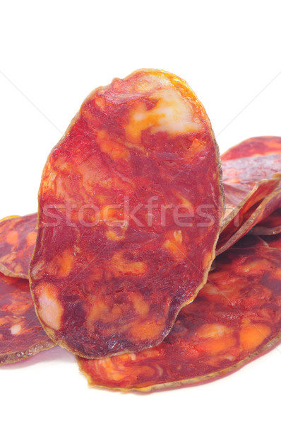 spanish chorizo Stock photo © nito