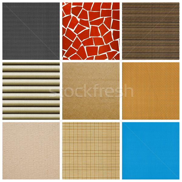 textures collage Stock photo © nito