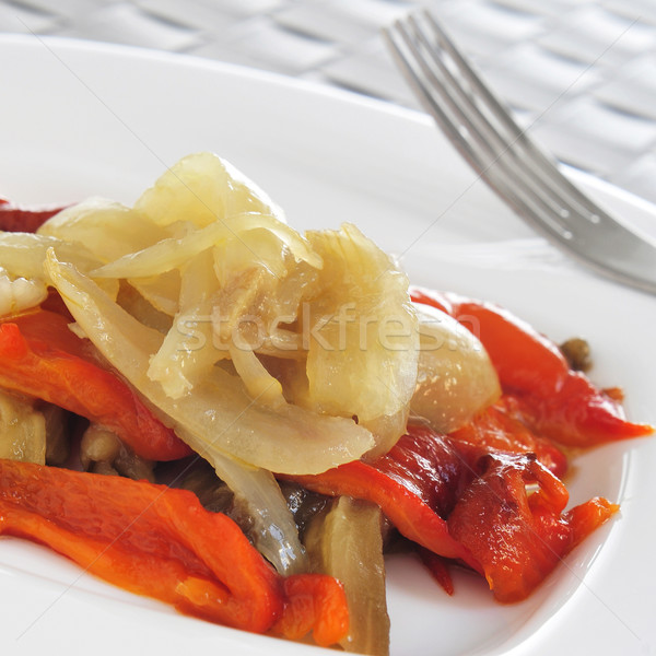 escalivada, typical vegetables dish of Catalonia, Spain Stock photo © nito
