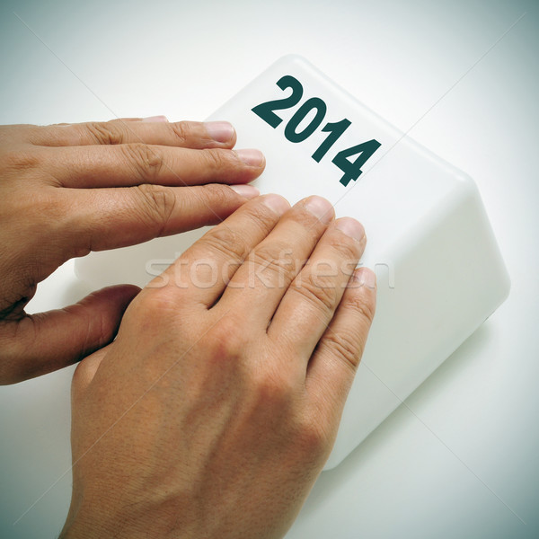 2014, as the new year,  Stock photo © nito