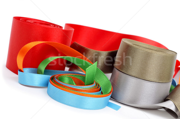 satin ribbons of different colors Stock photo © nito