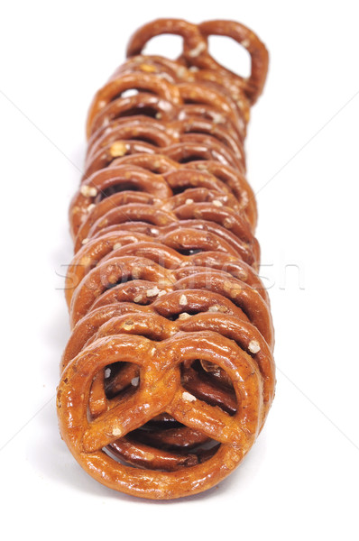 крендельки белый продовольствие хлеб жира Сток-фото © nito