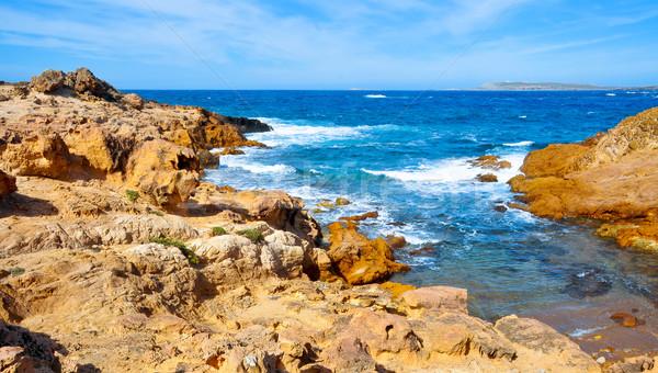Part szigetek Spanyolország kilátás sapka természet Stock fotó © nito