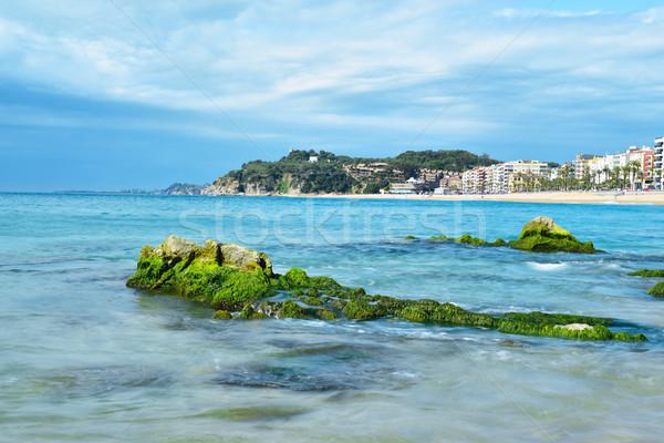Widoku główny plaży popularny turystycznych w. Zdjęcia stock © nito