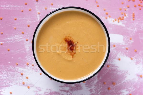 Pompoen kokosnoot witte keramische Stockfoto © nito