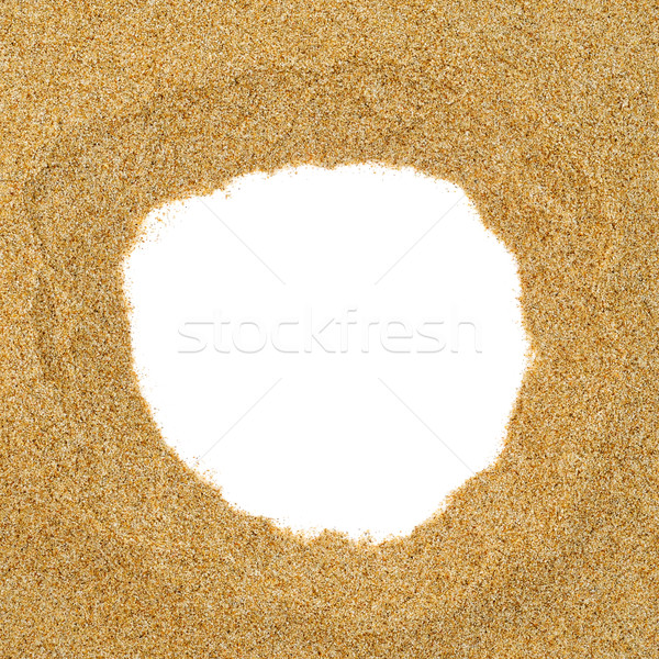 sand frame Stock photo © nito