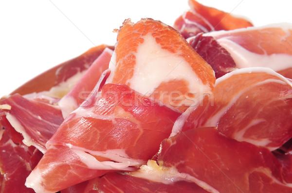 Serrano jambon tapas espagnol alimentaire Photo stock © nito