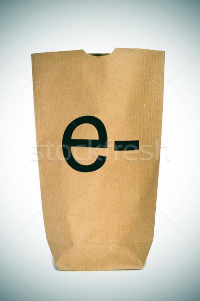 e-shopping or e-commerce Stock photo © nito