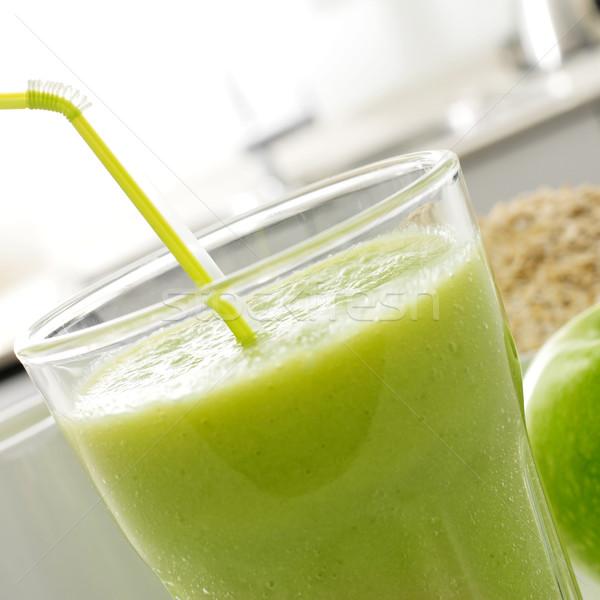 fresh green smoothie Stock photo © nito
