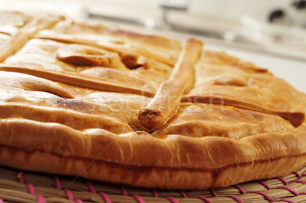 Segurelha recheado bolo típico Espanha Foto stock © nito