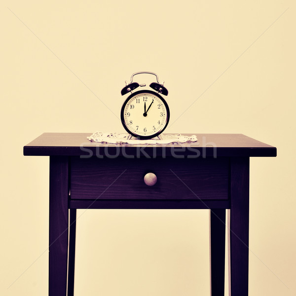 alarm clock on a table Stock photo © nito