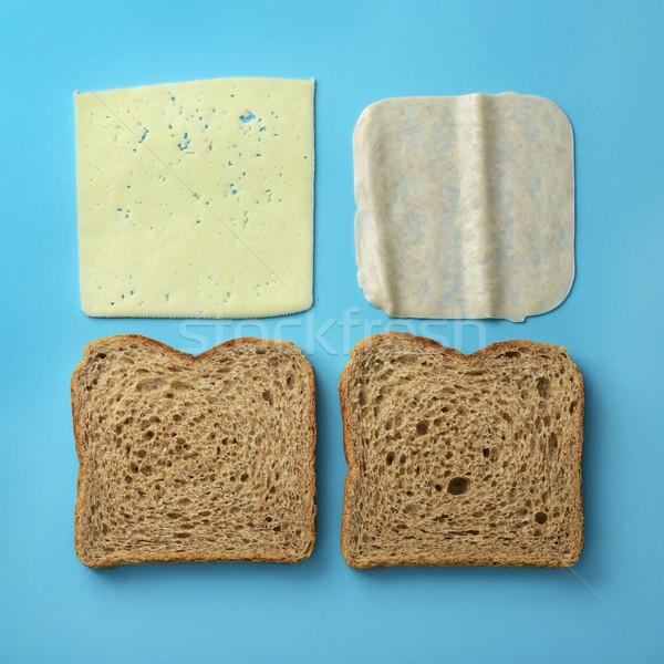 ham and cheese sandwich Stock photo © nito
